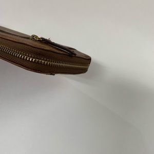 Coach Bags - Fossil Womens Wristlet Wallet Zip Around Accordion